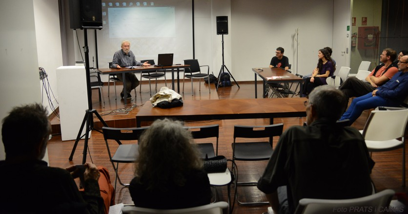 """22/10/2016. València, Octubre CCC. Cicle anARCO: ètiques i estètiques llibertàries. Jornada amb Llorenç Barber: """"Un art alliberat"""". Fotos: PRATS i CAMPS"""